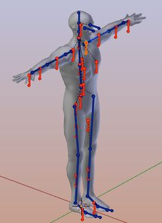 how to connect bones to mesh in blender