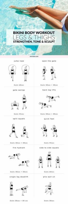 Lower Body Legs and Thigh Workout   Posted By: NewHowtoLoseBellyFat.com