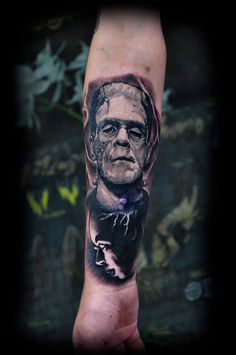 Frankenstein miniature #black&white