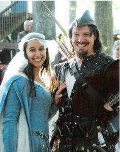 Robin Hood and Maid Marian - Maryland Renaissance Festival