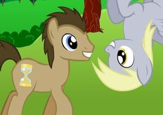 Muffin + Dr. Hooves