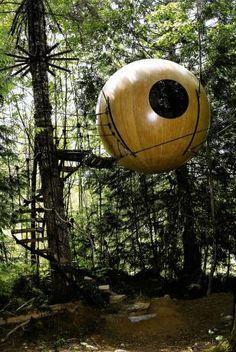 Baumhäuser: Ja, wohn' ich im Wald hier? - SPIEGEL ONLINE - Nachrichten - Panorama