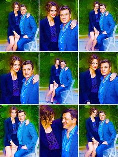 beckett and castle off screen relationship