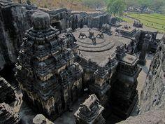 Kailashnath Temple in Maharashtra, India