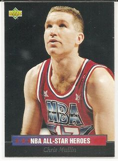 Chris Mullin 1992-93 Upper Deck All-Star Weekend All-Star Heroes Card 18 >>> Click image for more details.