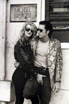 Nicolas Cage y Laura Dern (Corazón salvaje, 1990. Dir. David Lynch)