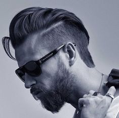 benhards_and+cool+long+slicked+hair+and+short+sides