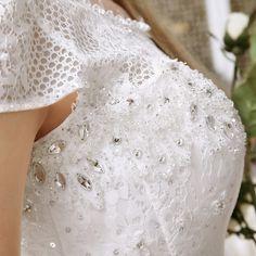 Elegante vestido de baile vestido de casamento com ruiva da luva do tampão bandage tulle vestido de noiva beading detalhe frisado vestido de feista 2015 em Vestidos de noiva de Casamentos e Eventos no AliExpress.com | Alibaba Group