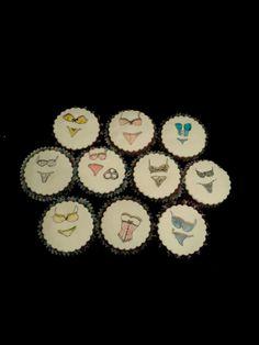 Lingerie cupcake