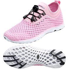 db78be3894de Zhuanglin Womens Lightweight Aqua Water Shoes Beach Sneakers Summer Shoes