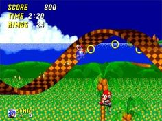 Love me some Sonic on Sega.