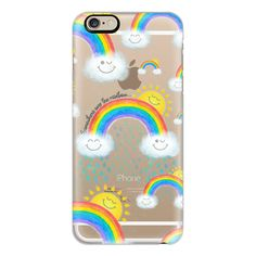 iPhone 6 Plus/6/5/5s/5c Case - Somewhere over the rainbow... 02 (56 CAD) ❤ liked on Polyvore featuring accessories, tech accessories, iphone case, apple iphone cases, iphone cover case and rainbow iphone case