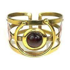 Image result for tigers eye brass bracelet