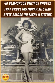 #Glamorous #vintage #photos #prove #grandparents #style #before #Instagram #filters Girl Fashion, Fashion Looks, Plus Fashion, Mario Buatta, Bohemian Interior Design, Viral Trend, Old Fashioned Cocktail, Winter Fashion Outfits, Grandparents
