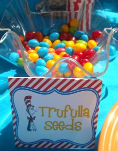We Heart Parties: Party Details - Dr. Seuss Birthday Party