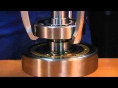 Extractor de cojinetes o rodamientos, casero - YouTube