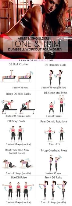 Repin and share if this workout destroyed your bingo wings! Read the post for all the info!https://transformfitspo.com/tone-and-trim-shoulder-workout-at-home/
