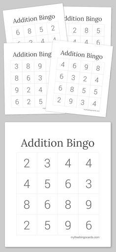 Blank Bingo Cards  Printables    Blank Bingo Cards