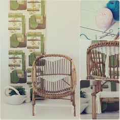 Hay sillas que le sientan muy bien un toque de trapillo. http://wp.me/p2IG9P-tH