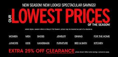 lowest prices of the season at #macys! #home #fashion #kitchen #dining #sale #save