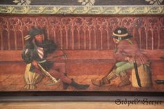 Schlafende Wächter Heilig-Grab-Truhe (Dom Erfurt, um 1475)