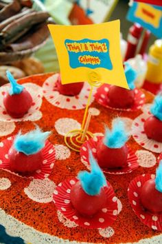 this site is a gold mine for ideas for a Dr. Seuss party!!