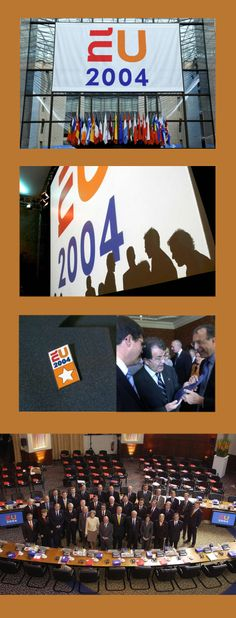 EUNL 2004 Visual Identity Presidency of the Council of the European Union - Portfolio of Twan Minten #Branding