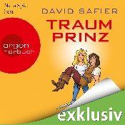 Ich habe Traumprinz von David Safier, gesprochen von Nana Spier, in meiner Audible-App zu Ende gehört.  Probier Audible gratis aus.
