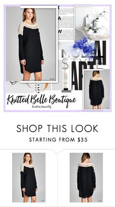 """""""Knitted Belle Boutique"""" by amnagirl ❤ liked on Polyvore"""
