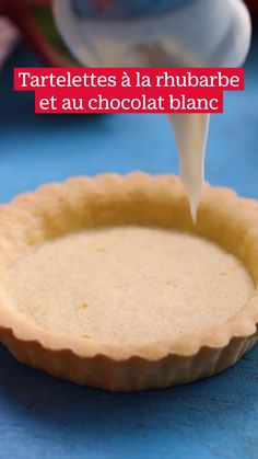 Rhubarb Tart, Cooking Cookies, My Dessert, Cookie Designs, Cooking Ideas, Java, White Chocolate, Food Videos, Pastries