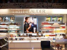 The new Estee Lauder cosmetics shop-in-shop!