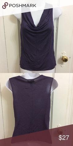NWT Laundry Purple Top/ Blouse size Small New with tags Laundry by Shelli Segal purple top with scoop neck. 100% rayon. Regular price $78 Laundry by Shelli Segal Tops Blouses