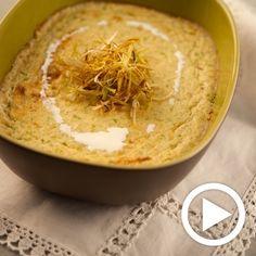 Una deliciosa receta de Tarrina de calabacín para #Mycook http://www.mycook.es/receta/tarrina-de-calabacin/