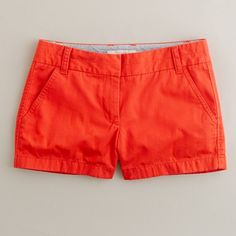 My obsession right now - J Crew modern red shorts. And yes, they are on sale right now!