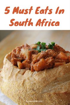 The top 5 east you must taste while visiting Cape Town, South Africa. ~ http://thetravelbite.com