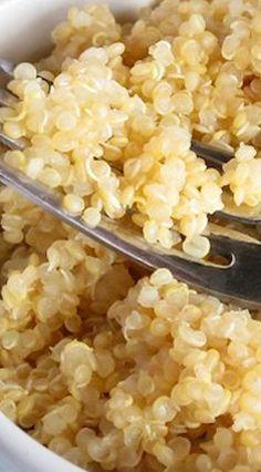 Perfect Pressure Cooker Quinoa