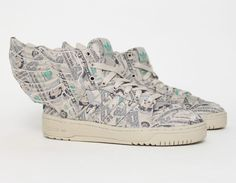 #adidas #JeremyScott Wings 2.0 Money #Sneakers lol these are ridiculous