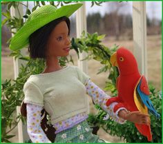 Afro Auntie and her parrot   Flickr - Photo Sharing!