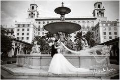 Veil Shot | The breakers wedding by Alain Martinez Photography #veilshot