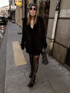 #black #winter #winterstyle #outfits #ootd #fashion #fashionblogger #love #style #1 Ootd Fashion, Passion, Sweaters, Inspiration, Outfits, Black, Dresses, Style, Winter