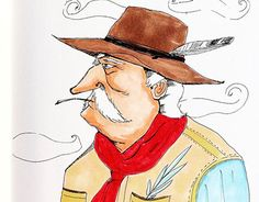 """Check out new work on my @Behance portfolio: """"Cowboy"""" http://be.net/gallery/43541459/Cowboy"""