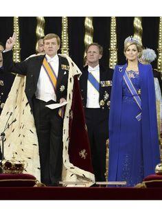 In de Nieuwe Kerk - Koning Willem-Alexander en Koningin Máxima