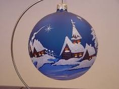 Image result for new hand painted christmas balls