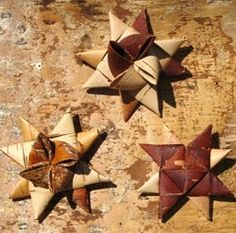 Weaving Holiday Ornaments From Birch Bark