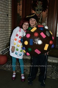 Delicous Candy Crush Costume for Kids... Coolest Homemade Costume Contest