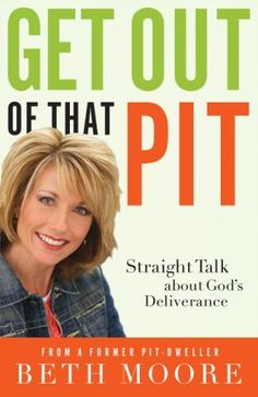 This best-selling author and Bible teacher who has opened the riches of Scripture to millions longs for you to be free as well—to know the Love and Presence that are better than life and the power of God's Word that defies all darkness.  http://www.amazon.com/Get-Out-That-Pit-Deliverance/dp/0785289739/ref=sr_1_1?ie=UTF8&qid=1417102308&sr=8-1&keywords=get+out+of+that+pit