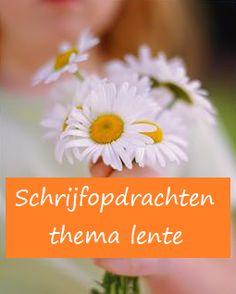 Schrijfopdrachten over de lente - KlasvanjufLinda.nl - vol met leuke lesideeën en lesidee
