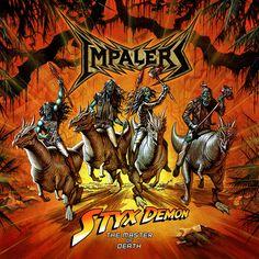 Impalers : la thrash metal band danese rilascerà un nuovo EP intitolato Styx Demon: The Master of Death  il prossimo 16 Gennaio via Evil EyE...