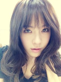 After School's Park Kahi new bangs