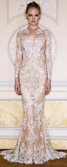 Zuhair Murad , see-through Garment , would never wear but can still admire
